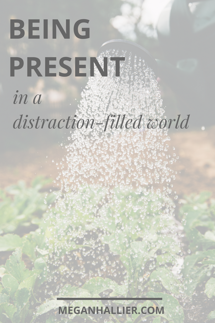being present in a distraction filled world, living intentionally, living in the moment, slowing down, self care, the fear of missing out, social media break, rest,