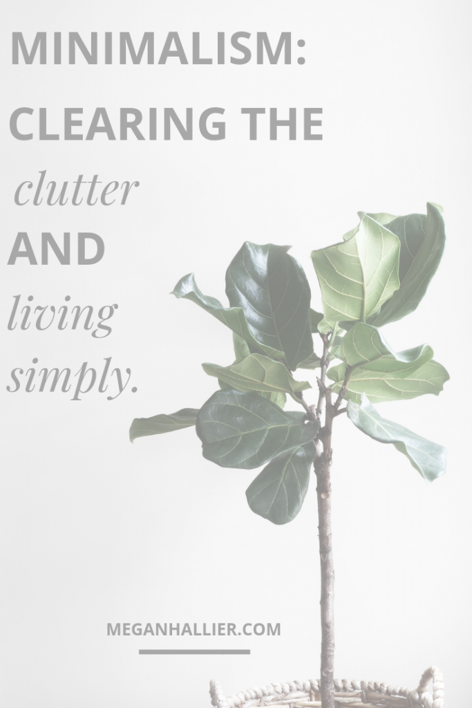 minimalism, minimal living, simple living, simplify, clear the clutter, declutter, mindfulness, minimalist lifestyle, minimalist,